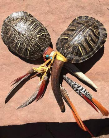 Turtle Rattles Sacred Art