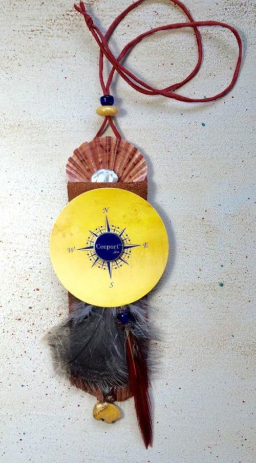 Finding Direction Amulet Sacred Art