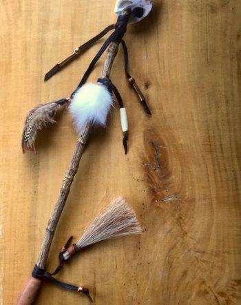 Apache Tear Talking Stick