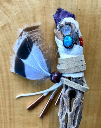 Moonstone Talking Stick