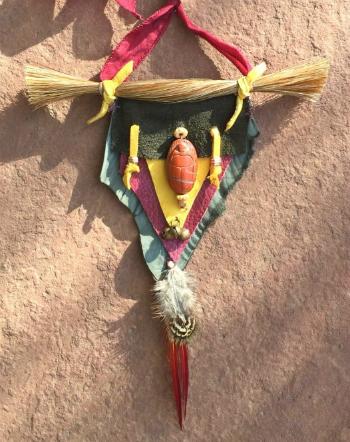 Red Jasper Scarab Amulet