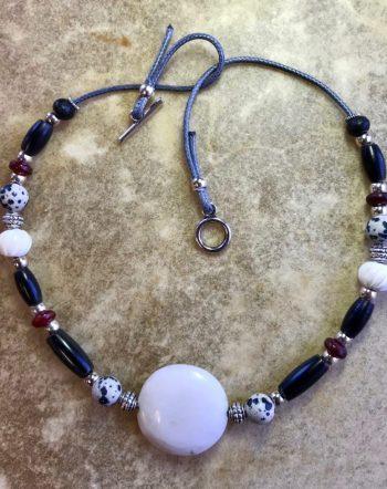 dalmation-jasper-choker-sacred-art-jewelry-ceremony