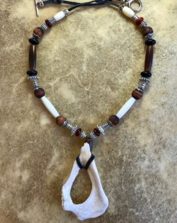 elk-tiger-eye-amulet-sacred-art-ceremony-jewelry