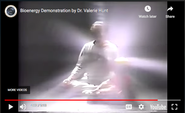 footage of auric fields Dr Valerie Hunt